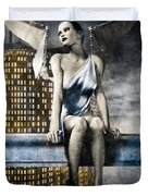 City Angel -2 Duvet Cover