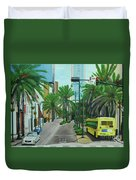 City Beautiful - Downtown Orlando Fl Duvet Cover