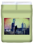 City Bird Duvet Cover