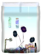 City Blooms Duvet Cover