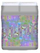 City Blox Light Duvet Cover