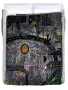 City Dragon Duvet Cover