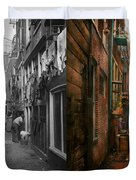 City - Germany - Alley - The Other Half 1904 - Side By Side Duvet Cover