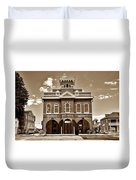 City Hall And Fire Department S Duvet Cover