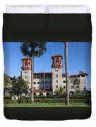 City Hall And Lightner Museum Duvet Cover