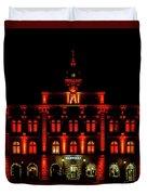 City Hall In Uppsala Duvet Cover