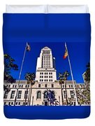 City Hall La Duvet Cover