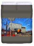City Infradesign Artwork Duvet Cover