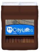 City Loos Duvet Cover