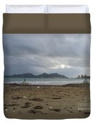 City Lost To The Sea Duvet Cover