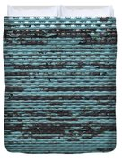 City Metal Grid Duvet Cover