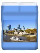 City Of London 12 Duvet Cover