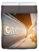 City Of London Duvet Cover