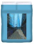 City Of London Street Duvet Cover