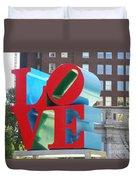 City Of Love Duvet Cover