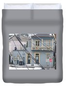 City Of N'awlins Duvet Cover