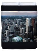 City Of Toronto Downtown Duvet Cover