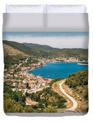 City Of Vis Duvet Cover
