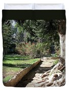 City Park Rhodes Greece Duvet Cover