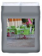 City Place Seats Duvet Cover