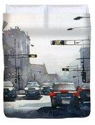City Shadows 2 Duvet Cover