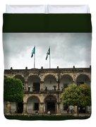 City Square Antigua Guatemala Duvet Cover