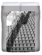 City Stairs II Duvet Cover
