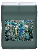 City Strollin Duvet Cover