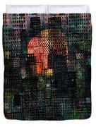 City Sunset 2010 Duvet Cover