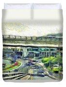City Traffic Duvet Cover
