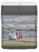 city Weddings Duvet Cover