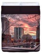 Citygarden Gateway Mall St Louis Mo Dsc01485 Duvet Cover