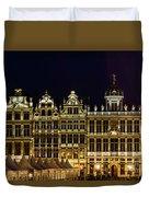 Cityscape In Brussels Europe - Landmark Of Brussels, Belgium Duvet Cover