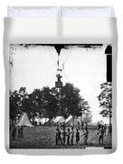 Civil War: Balloon, 1862 Duvet Cover