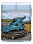 Civil War Cannon Duvet Cover