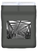 Civil War - Chain Bridge Duvet Cover