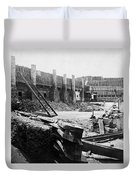 Civil War: Fort Sumter Duvet Cover