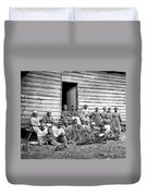 Civil War: Freed Slaves Duvet Cover