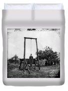 Civil War: Hanging, 1864 Duvet Cover