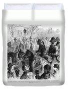 Civil War: Prisoner, 1864 Duvet Cover