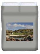 Clachtoll Beach Duvet Cover