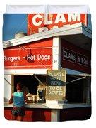 Clam Bar, East Hampton Duvet Cover