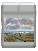 Clam Diggers - Sold Duvet Cover