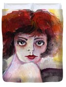 Clara Bow Vintage Movie Stars The It Girl Flappers Duvet Cover