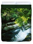 Clare Glens, Co Clare, Ireland Duvet Cover by The Irish Image Collection