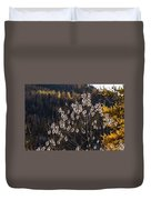Claree Valley In Autumn - 10 - French Alps Duvet Cover