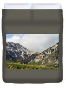 Claree Valley In Autumn - 12 - French Alps Duvet Cover