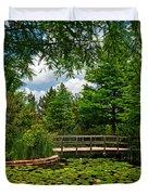 Clark Gardens Botanical Park Duvet Cover