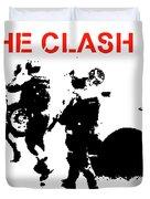 Clash White Riot  Duvet Cover