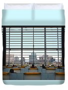 Class In The City Duvet Cover